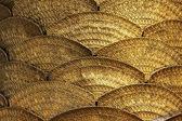Pattern of golden tiles — Stock Photo