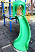 Colorful plastic playground — Stock Photo