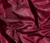 Burgundy satin fabric texture — Stock Photo