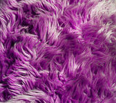 Purple faux fur texture — Stock Photo