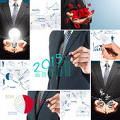 2015 business success concept — Stock Photo