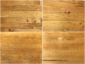 Assorted wooden textures — Stock Photo