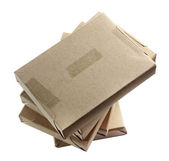 Brown paper parcels — Stock Photo