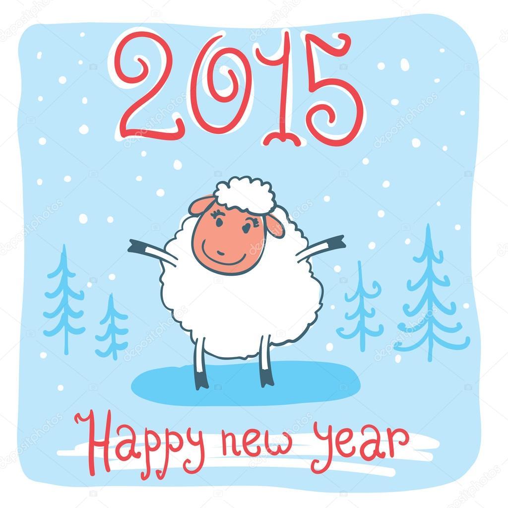 Symbol Sheep Sheep Symbol of The New