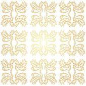 手描かれたヴィンテージのシームレス パターン — ストックベクタ