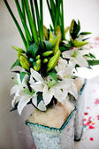 Floral decoration for events — Stock Photo