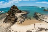 Blue Ocean Rocky Headland Holidays — Stock Photo