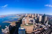 Durban City Harbor — Stock Photo