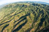Flying Rural Tribal Landscape — Stock Photo