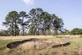 Landscape Ruins — Stock Photo