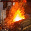 Metal casting in the forge — Stock Photo #63894813