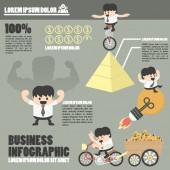 Business Infographics,success — Stock Vector