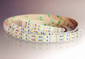 Led strip in coil. Diode lights coil. — Stock Photo