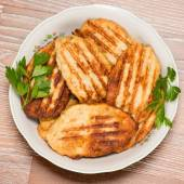 Many meat cutlets, — Stock Photo