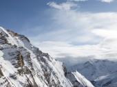 Peaks of the Alps — Stock Photo