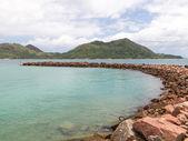 Turquoise blue sea — Foto Stock