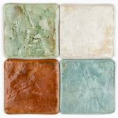 Ceramic tiles in country style — Stock Photo