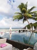 Beautiful tropical resort — Stock Photo