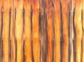 Fence ebony — Stock Photo