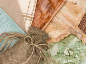 Linen bag — Stock Photo