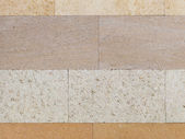 Natural travertine four shades — Stock Photo