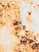 Old rusty painted metal — Stock Photo