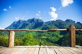Natural mountain view at Chiangmai, Thailand — Stock Photo
