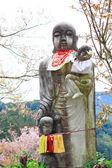 Spring spot in Nara at the ancient temple, 'Hasedera' — Stock Photo