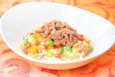 Corn Tuna Salad — Stock Photo