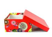 Aprire la scatola rossa — Foto Stock