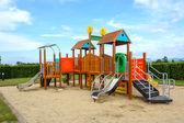 Playground with blue sky — Stock Photo