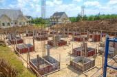 Budowa nowego budynku domu — Zdjęcie stockowe