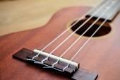 Close up of ukulele  — Stock Photo