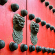 Old Ancient door Chinese style — Stock Photo #71531863