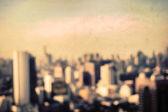 Затуманенное городской пейзаж в Бангкоке, Таиланд — Стоковое фото