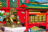 Ivolginsky Datsan, Buddhist Monastery, Russia — Stockfoto