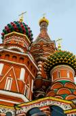 St. Basil Cathedral at Moscow — Stock Photo