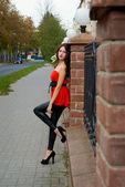 красивая азиатская девушка — Стоковое фото