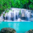 Waterfall in deep forest of Erawan National Park — Stock Photo #57921179