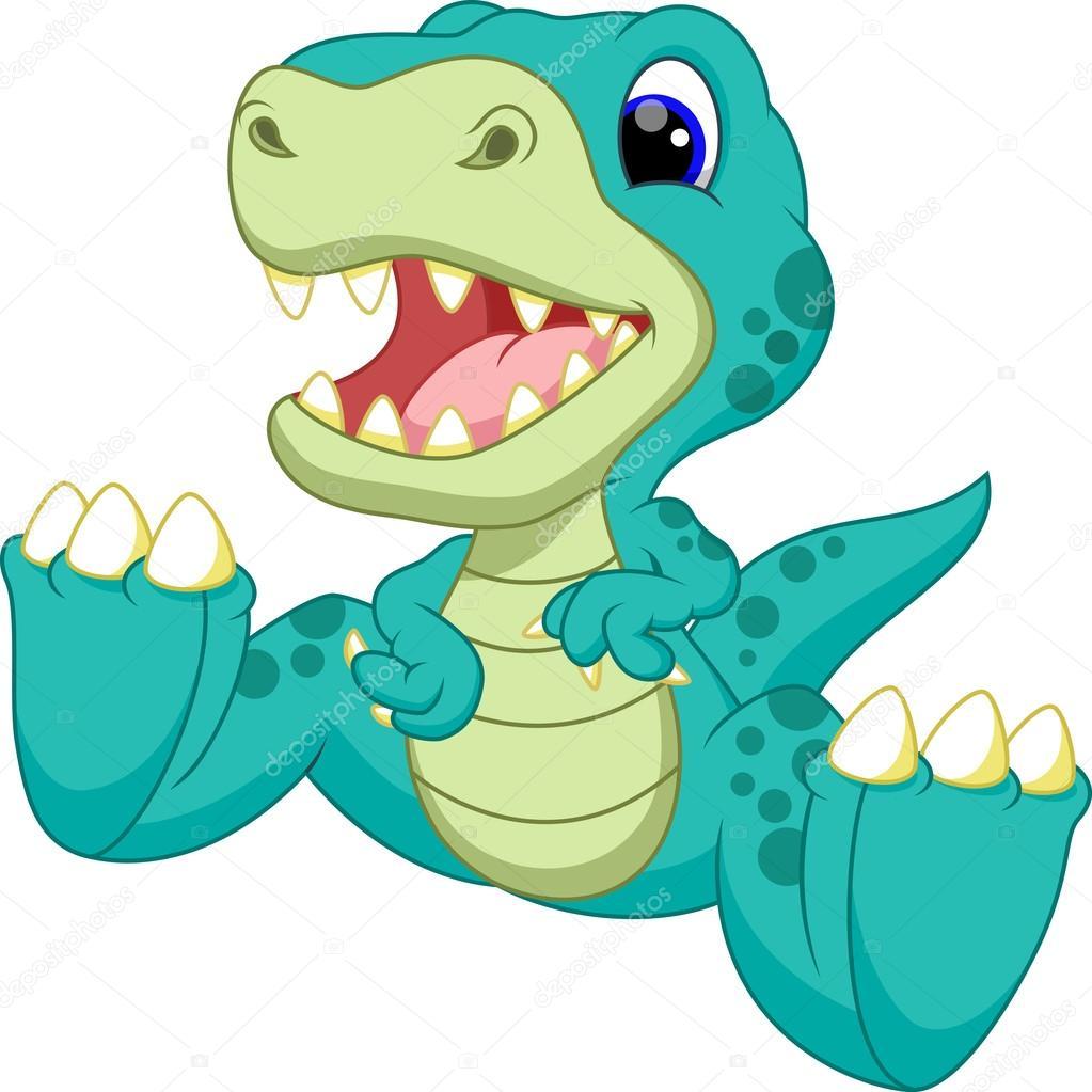 dibujos animados de dinosaurios vector de stock Baby Dinosaur Clip Art cute dinosaur clipart black and white