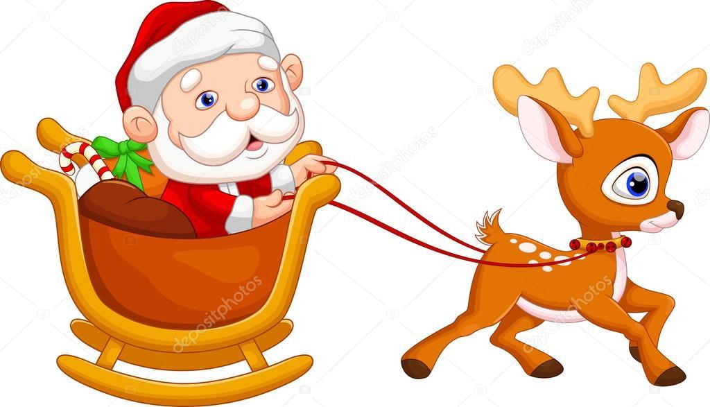 Dibujos Animados De Santa Claus