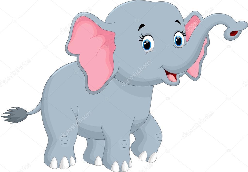 可爱的大象卡通 图库矢量图像 169 Irwanjos2 95756662