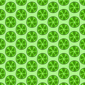 Seamless doodle lime pattern — Vetorial Stock