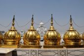 Sikh holy Golden Temple in Amritsar, Punjab, India — Stock Photo