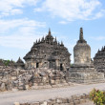 Plaosan Buddhist Temple in Yogyakarta,  Indonesia — Stock Photo #65097305