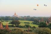 Ananda buddhistiskt tempel i Bagan, Myanmar — Stockfoto