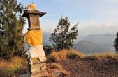 Hindu Shrine at Bromo Tengger on Java, Indonesia — Foto de Stock