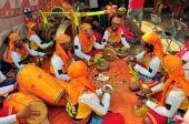 Traditional Music at Madura Bull Race, Indonesia — Photo