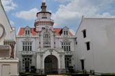 Colonial architecture in Penang, Malaysia — Stock Photo