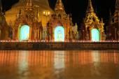 Schwedagon Pagoda, most important Buddhist temple in Burma — Stock Photo